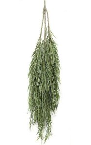 "81"" Willow Tree Top - 1,422 Leaves - Green"
