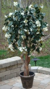 EF-600 Custom Made Polyblend Flowering Bougainvillea Tree Comes from 4 to 7 feet Made in 5 different colors