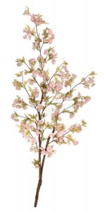 5.5' Cherry Blossom Tree - Natural Wood - 294 Flowers