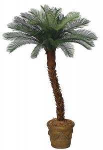 AP-01614 4 Feet Cycas Palm 18 Fronds - Polyblend Outdoor- Other sizes available, select your size and trunk style!