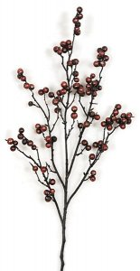 "PF-100600 25"" Styrofoam Round Berry Spray"
