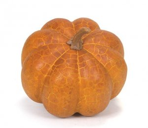 Pumpkin Crackled Veins