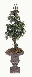 Faux Life Like Home Accent Pittsburgh Ivy Topiary