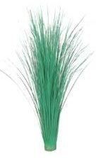 "EF-091 24"" PVC Onion Grass Bush x320  Green (Price is for a 6pc set)"