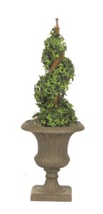 "34"" Life Like Faux Pittsburgh Ivy Spiral"