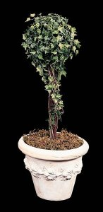 Faux English Ivy Topiary 1 Ball