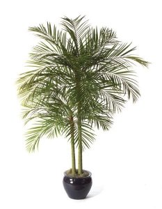 9' Faux Life Like Areca Palm Tree