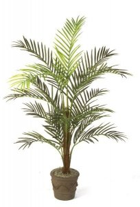 7' Faux  Areca Palm