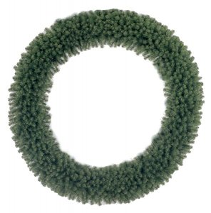 "C-208 100"" Virginia Christmas Pine Wreath"