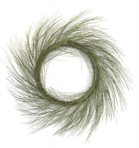 "30"" Willow Pine Wreath - 44 PVC Green Tips"