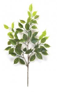 "22"" Length Plastic Ficus Spray Sold Per Dozen"
