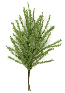 "Earthflora's 11"" PVC Lycopodium Spray  ( Sold Per Dozen)"
