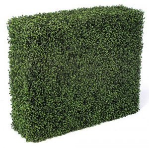 A-0510 Plastic Life Like Boxwood Hedge Indoor/Outdoor Hedge (Featured on NBC The Today Show