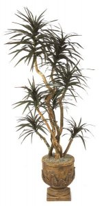 Custom made Faux 4'-8'  Dracaena Marginata Tree