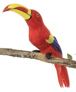 "22"" Toucan Bird Red"