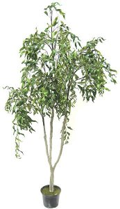 "Faux Life Like 54"" Curly Willow Tree"