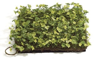 "A-60030 11"" Clover Mat Green/Yellow (Priced in a set of 3 mats)"