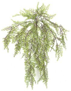 "A-50130 26"" Life Like Plastic Maidenhair Fern Cluster"