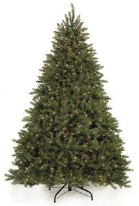 7.5' & 9' Alaskan Fir Christmas Tree with lights