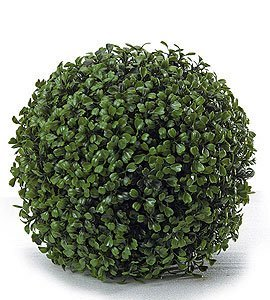 "9"", 12"" , 15"" Life like Outdoor Fade Resistant Plastic Boxwood Balls (Featured on NBC The Today Show"