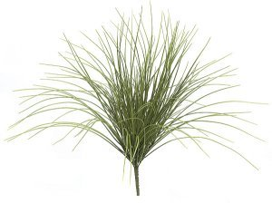 "23"" Life Like Plastic Monkey Grass Bush - Green"