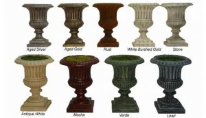 EF-401 Classic Urns Select from a variety of sizes & colors See Details