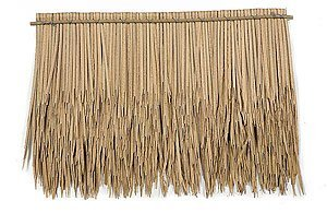 "AR-70040  Plastic Thatch 30"" x 22"" Sold Per Pc"