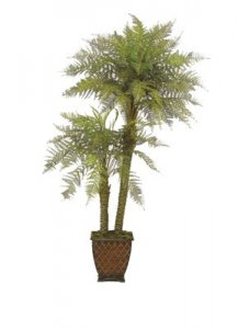 EF-2664 6' AND 3' Plastic Marsh Fern Tree