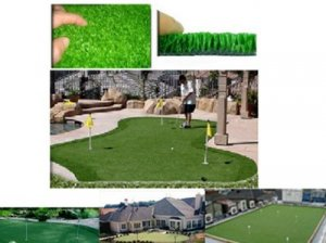 EF-1000 Outdoor Putting Green Surface, Tennis Court and Bocce Ball Surface (180 sqt min 5.35 per sqft)