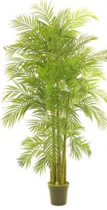 EF-8007  6.5' Outdoor Areca Palm Tree UV Coated Leaves