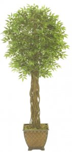 EF-8002 7' Outdoor Ficus Tree U.V. Stabilized (resists fading under sunlight).