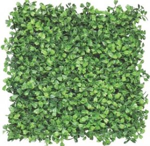 "EF-4614 12"" Outdoor Artificial Boxwood Mat,  (Sold in a set of 4pc)"