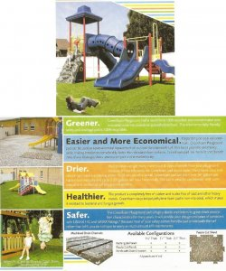 EF-43 Sport Turf  Great for Kids Playground
