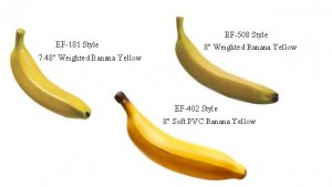 EF-181 Series 3 Style Artificial Banana's To choose From