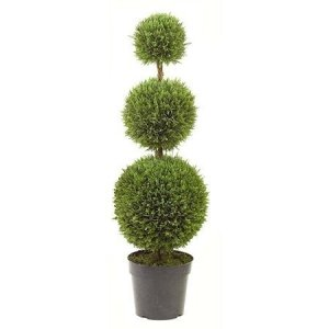 "EF-2441 50"" Triple Ball Topiary Tree"