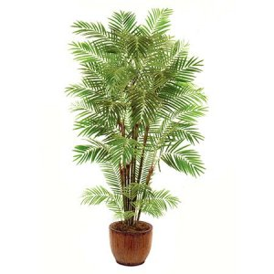 EF-1814 8' Areca Palm Tree with 10 trunks 1356 Lvs