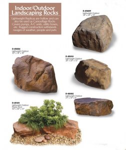 Assorted Rock Collection Indoor & Outdoor Use