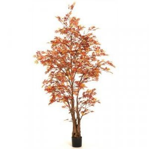 EF-4912 6' Automn Maple Tree Green 1705 Leaves