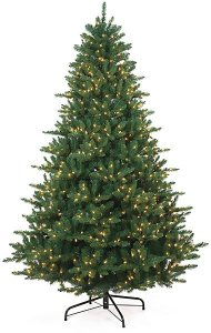 C-80608  7.5' to 15' ***Instant Shape*** Balsam Fir Pre- Lit NEW LED Lights Christmas Tree