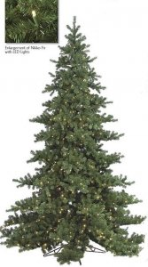 C-9748 6' to 15' Nikko Fir Tree - Pre- Lit NEW LED Lights