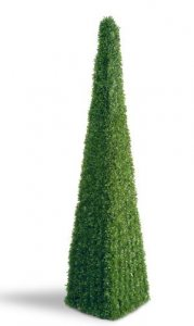 "EF-703 60"" Mini Tea Leaf Pyramid Topiary 5,650 Leaves"