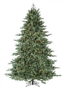 "EF-Y0J509-GR/GY 9'Hx72""D Japanese Mountain Pine(pe) Tree x2518 w/1150 Smart ALL-Lit Clear Lights (ms) Green"
