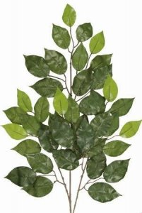 "EF-M16 24"" 42–2.75"" to 3.5"" Silk Leaves Two-tone Green(Sold in a 2 Dozen set Price)"