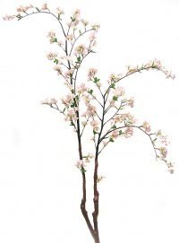 P-2120 5.5' Cherry Blossom Tree/Branch - Synthetic Stem - Pink - Bare Stem
