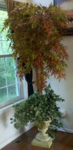 EF-2005 Custom Made Autumn Maple Tree Can be made in various heights