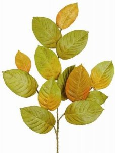 "EF-230 22""  13–2.75"" to 4.25"" Silk Leaves. Green/Brown/Yellow (Price is for 2 Dozen Set)"