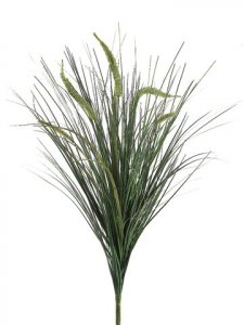 "EF-189 30"" Foxtail Grass Bush x5  Light Green (Sold Per Dozen)"