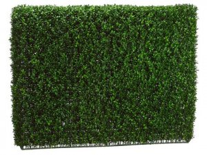 "EF-259  36""Hx9""Wx46""L Boxwood Hedge  Two Tone Green (Indoor/Outdoor)"