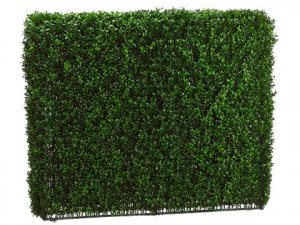 "EF-257   33""Hx8""Wx39""L Boxwood Hedge  Two Tone Green (Indoor/Outdoor)"