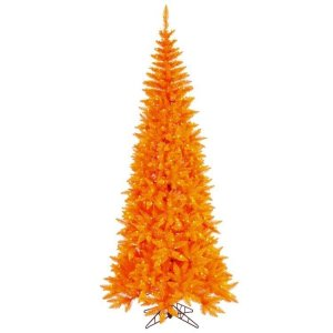 "EF-122256  5.5' x 30"" Orange Slim 300 Orange Lights  722 Tips"